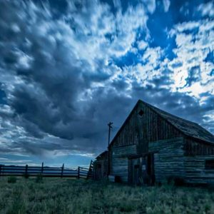 Radiance - Barn in Moonlight by Mark Ruckman
