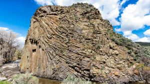 Rock shows its Layers by Mark Ruckman