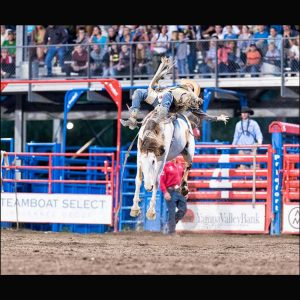Bucking Bronco provides an extreme lift by Mark Ruckman